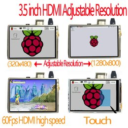 Canada Livraison gratuite framboise pi 3,5 pouces hdmi écran tactile LCD tactile 60 fps haute vitesse 3.5 pouces mieux que 5 pouces et 7 pouces Offre