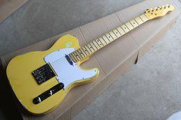 Wholesale Relic Guitars - Custom Shop Masterbuilt John Cruz '52 Ultimate Heavy Relic Butterscotch Blonde TL Yellow Electric Guitar Free shipping