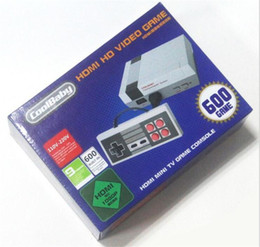 Wholesale Hot Android Games - AV NES Mini TV Video Handheld Game Console Entertainment System Built in 600 Classic Game Players For NES PAL NTSC Hot