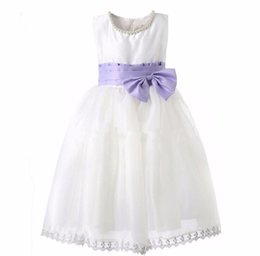 Wholesale Infants First Communion Dresses - Real Image Infant Christening Gowns Short Sleeves Ivory Babies Baptism First Communion Dresses With Bow Free Shipping