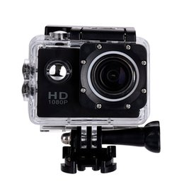 Wholesale Mini Dv Helmet Camera - 2 Inch LCD Screen mini Sports camera 1080P Full HD Action Camera 30M Waterproof Camcorders Helmet sport DV