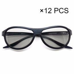 b9d140445b1 Wholesale- 12 pcs Replacement AG-F310 3D Glasses Polarized Passive Glasses  For LG TCL Samsung SONY Konka reald 3D Cinema TV computer polarized 3d tv  on sale