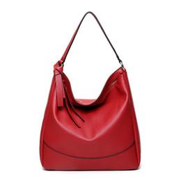 Wholesale Handbag Free Shiping - Wholesale- 2017 Women's Shoulder Bags Handbags High Quality Vintage Women Bags Designer Hobos Shoulder Bag Black Color Free Shiping