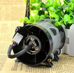 Wholesale High Powered Car Fan - 16.5A 10CM 12V super violent metal fan car modified high power electric turbocharger (rough line motor with drive 35000 RPM spee