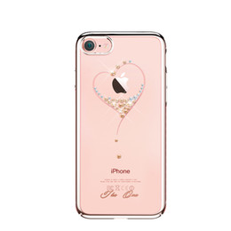 Wholesale Cases Swarovski Diamond - Bling sparkling crystal cover case for iPhone 7 Protect Cover with Swarovski Diamond Rhinestone Crystal Cover