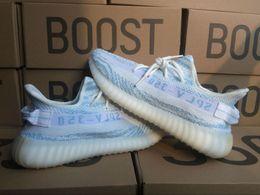 Wholesale Tinted Pvc - 2017 350 v2 Blue Tint zebra new cp9656 sply 350 boost Shoes new zebra blue primeknit shoes size 36-46 Men Women Running shoes