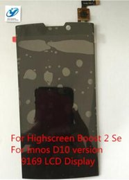 Wholesale Lcd Innos - Wholesale- LCD Display with Touch Screen Digitizer Assembly For Highscreen Boost 2 Se For Innos D10 version 9169 Free Shipping