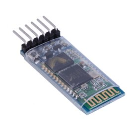 Wholesale Rf Transceivers - Wholesale-New 1pc HC-05 6 Pin Wireless Bluetooth RF Transceiver Module Serial For Arduino Wholesale