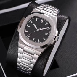 Wholesale Sapphire Automatic - 2017 new arrivel siliver mens luxury brand watches 5 colors automatic movement sapphire glass watches aaa quality replica wristwatch