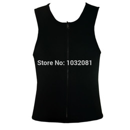 Wholesale Selling Waist Trainers - Hot Selling XS - 5XL Plus size waist training corset for men Sport Vest Neoprene waist trainer waist cincher sauna suit hot shaper body M04G