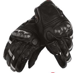 Argentina Envío gratis 2017 motocicleta guantes de alta calidad de la motocicleta negro moto Racing guantes de motocross famosa marca de fibra de carbono guantes Suministro