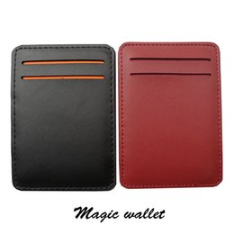 Wholesale Magic Purses - Wholesale- Hot sale New arrival high quality PU leather men magic wallets Korea fashion mini purses 10.5CM*7.3CM*1CM Model: XF144