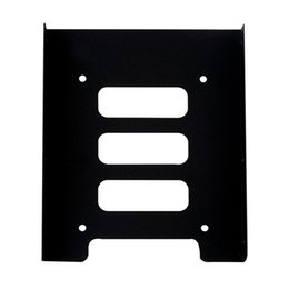 """Wholesale Hdd Mounts - Wholesale- New 2.5"""" to 3.5"""" SSD HDD Metal Adapter Mounting Bracket Hard Drive Holder for PC Wholesale Store"""