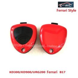 Wholesale Controlling Car Keys - B17 KD900 URG200 Remote Control 3 Button Key For Ferrari Style car univeral remote making