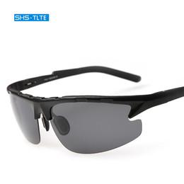 Wholesale Day Night Vision Polarized - 2017 New male fashion classic sunglasses uv400 polarizing men's sun glasses day and night vision sunglasses for men
