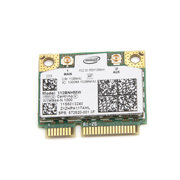 pci intel Promotion Vente en gros pour Lenovo Intel Wireless-N 1000 112BNHMW 300 Mbps Wifi demi-carte Mini PCIe 802.11b / g / n 60Y3240 pour Thinkpad L410 L510 SL510 X201