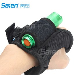 Wholesale Diving Hand Light - Hand-Free Dive Torch Light Glove Mount Holder Soft Handmount Miltary Style Soft Neoprene Goodman Handle (Without Torch)