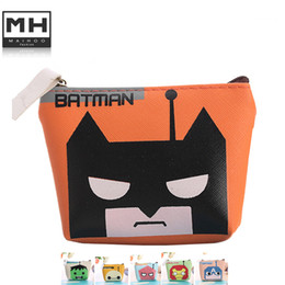 Wholesale Cluth Purse Wholesale - Wholesale- boy and girl Cartoon Lovely Coin Purses Key Cute Bags Purses Zipper Wallets Storage Case coin purse women cluth coin pouch
