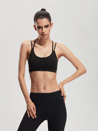 Wholesale Push Up Tank - HEAL ORANGE Women Sports Bra Top For Running Sexy Gym Vest Push Up Underwear Fitness Yoga Bra Workout Tank Top Sport Brassiere