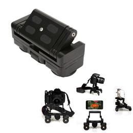 Triciclo Cámara Triciclo Carril Coches Mesa Dolly Car Video Slider Traker 1/4 '' Tornillo Placa de Montaje para Cámara DSLR Para Gopro desde fabricantes