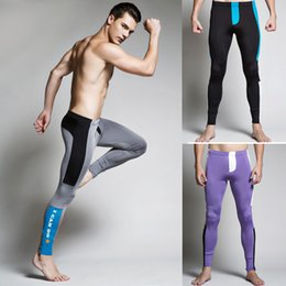 Wholesale Healthy Sexy Men - Brand Sexy Men's Cotton Underwear Healthy Medium thickness Long Johns Fashion Pants Warm Thermal Flower Print Leggings Men tight pants