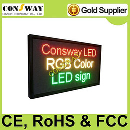 Wholesale Plastic Advertising - Free shipping advertising led screenwith size 1232*656mm and RGB full color