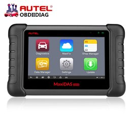 Wholesale Online Automotive Tools - Original Autel MaxiDAS DS808 Scanner Update Online Autel DS708 ECU Diagnostic Tool Same Function As MS906 Multi-Language