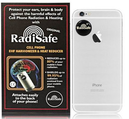 Wholesale low stickers - 2014 hot products wholesale-low price health retal work radisafe anti radiation sticker test by Morlb lab 100pcs lot free s