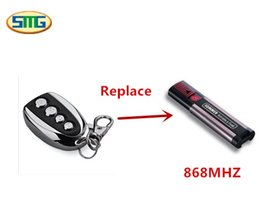 Wholesale 868mhz remote - Wholesale- Garage door universal 868MHz remote control handsender for SOMMER