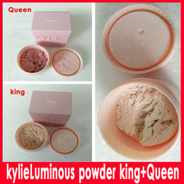 Wholesale Wholesale Websites Wholesalers - 2017 KYLIE king& Queen Loose powder latest official website release THE BIRTHDAY COLLECTION KING-QUEEN ULTRA GLOW DHL Free delivery