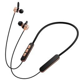 Wholesale Ear Fones - magnético v4.2 azul esportes do bluetooth fone de ouvido sem fio bluetooth originais fones de ouvido para o telefone móvel chamada