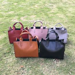 Wholesale Totes Vintage Wholesale - PU Faux Leather Retro Rectangle Shoulder Bags Wholesale Blanks PU Handbag Bridesmaid Tote Purse available in 5colors DOMIL106381