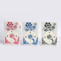 Wholesale Wholesale Flower Clip Cards - Wholesale- Wholesale Quality Clip ONLY Flower MP3 Music Player with TF Card Slot for leisure (no accessories)