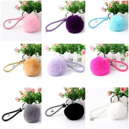 Wholesale Art Honey - New arrival Weaving rope 8CM big hair ball pendant girls to send girl honey creative gift bag ornaments R250 Arts and Crafts mix order