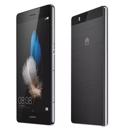 Wholesale Huawei Cdma Phones - Huawei P8 Lite 5.0'' 4G LTE Mobile Phone HiSilicon Kirin 620 Octa Core 16G ROM 2G RAM 13MP Smartphone