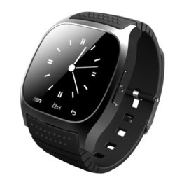 Wholesale Gps Sms Tracker Watch - Sport Bluetooth Smart Watch Luxury Wristwatch M26 with Dial SMS Remind Pedometer for Samsung LG HTC IOS Android Phone
