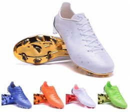 Wholesale Limited Soccer Cleats - 2017 original world's limited edition 99G FG Soccer Cleats mens Sports Footwear Soccer boots Pureagility Football shoes Cheap messi cleats