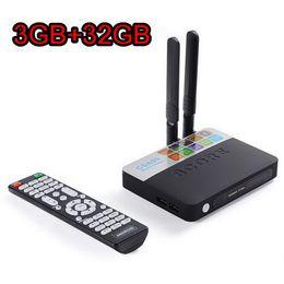 Wholesale Mini Pc Android Full Hd - CSA93 Amlogic S912 Octa Core 3GB 32GB Android 7.1 Smart TV Box Mini PC Streaming 4K H.265 Media Player Bluetooth 2.4G 5G Wifi 1000M LAN