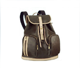 Wholesale Cover School - Free Shipping high quality genuine leather women's backpack BOSPHORE 40107 Backpack ladies backpack travel bags school bag