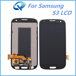 Wholesale Galaxy S3 Copy - High Copy Screen Replacement For Samsung Galaxy S3 LCD Digitizer Touch Display One By One Check