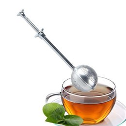Wholesale Easy Ball - Stainless Steel Tea Infuser Locking Spice Tea Ball Strainer Mesh Infuser Easy To Use Tea Tools OOA1947