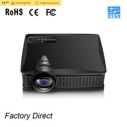 Wholesale Vga Direct - Wholesale-Better Than UC40 GM60 Factory Direct 1500 Lumens SD50+ SD50 Plus Portable LCD Projector HDMI   VGA Home Theater Beamer Meeting