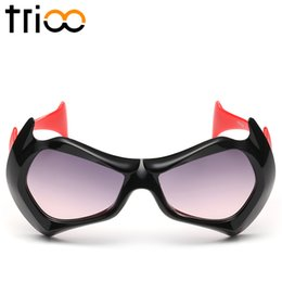 Wholesale Sun Shades For Children - Wholesale-TRIOO Cool Sunglasses Children For Boy Colorful Sun Glasses Kids High Quality Gradient Lens Shades Oculos Girl UV400 Protection