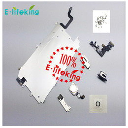 Wholesale Front Speakers - for iphone 6 6P LCD Assembly Digitizer Full Set Small Repair Part Metal Shield Plate Front Camera Ear Speaker Home Button Flex