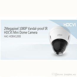 Wholesale Dahua Mini Dome - Free shipping DAHUA 2MP 1080P Vandalproof and Waterproof Mini HDCVI Dome Camera with 30M IR Distance HAC-HDBW1200E