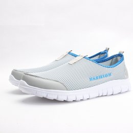 Wholesale Summer Women Shoes Plus Size - Women Casual Shoes 2017 New Arrival Women's Fashion Air Mesh Summer Shoes Female Slip-on Plus Size 34-41 Shoes