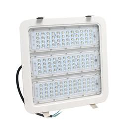 Wholesale Led Garage - 100w LED Flood Light 6000K Daylight White IP65 Retrofit LED Gas Station Lights Led Garage Canopy Lighting
