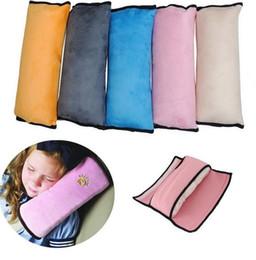 Wholesale Shoulder Pillows Baby - Baby Auto Pillow Car Protect Shoulder Pad kids Seat pillow Cushions baby pillow Protect Shoulder Pad for Seat KKA2165