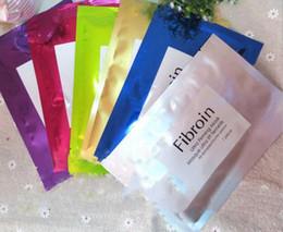máscara de seda hialurónica Rebajas Ácido hialurónico Máscaras de seda de Tailandia Secreción de caracol Fibroína Cuidado de la piel Belleza Máscara facial hidratante blanqueamiento