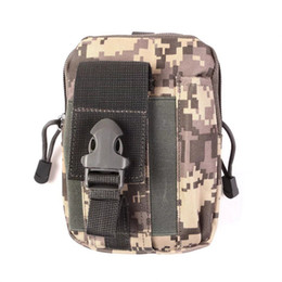 Wholesale 5 inch S8 S7 Multifunction Camouflage Outdoor Climbing Oxford Durable Pockets Dirt resistant Waterproof Bag Phone Running Belt Bags